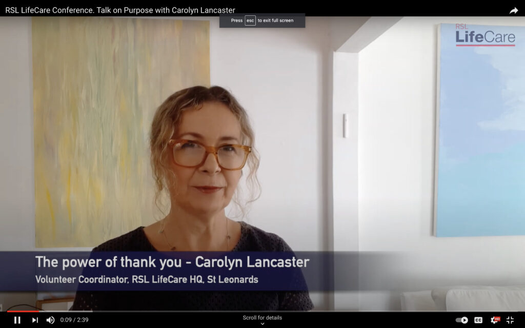 Talk on Purpose with Carolyn Lancaster