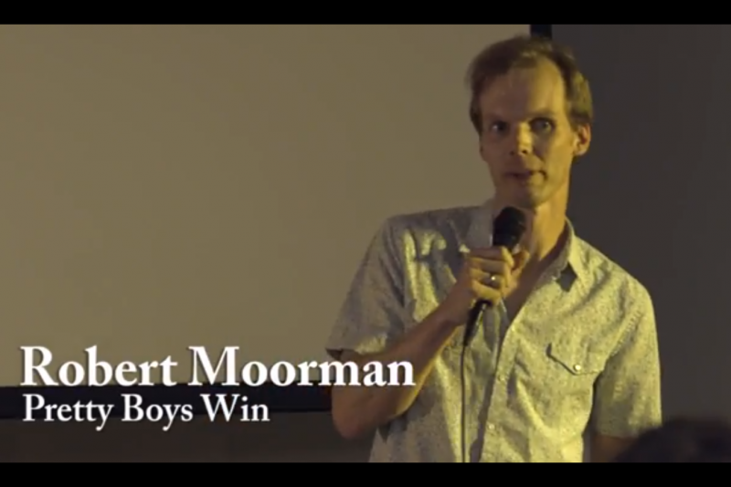 Robert Moorman won the 2014 Peoples Choice Award for the 'Is there a TED talk in you?' course